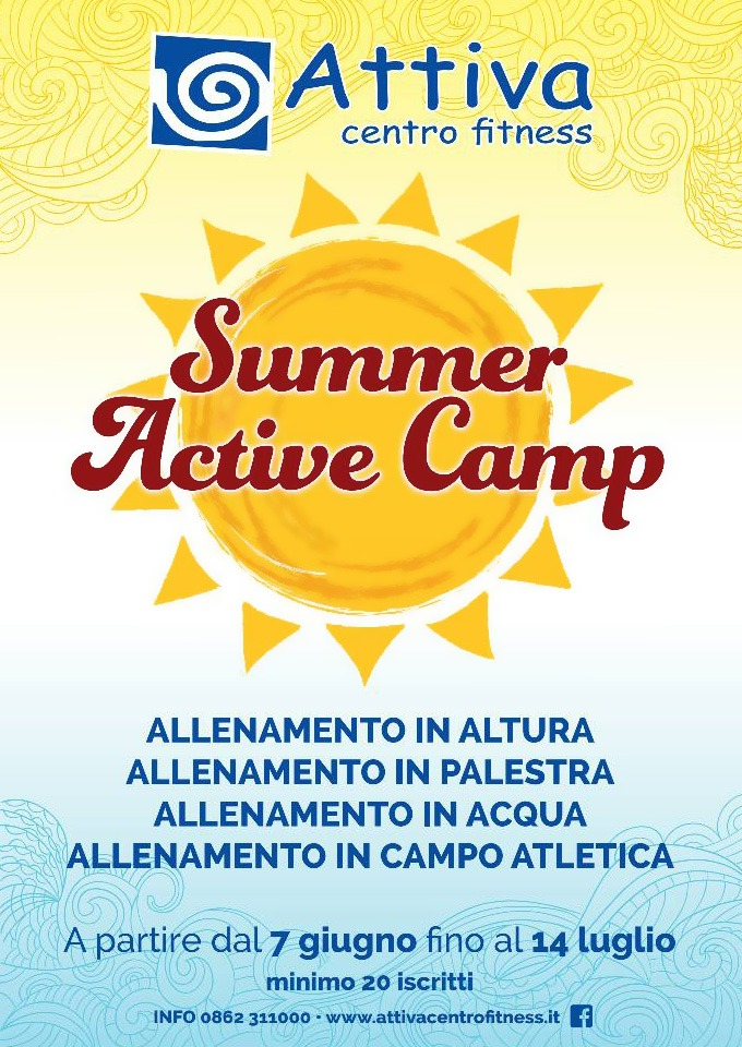 Summer Avtive Camp 2016
